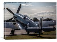 RAF Spitfire PS915 , Canvas Print