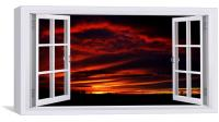 A New Forest sunset by JCstudios, Canvas Print