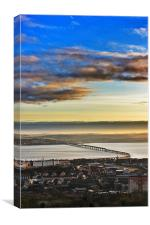 Tay Rail Bridge, Canvas Print