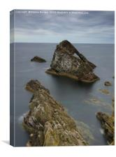 Bow Fiddle Rock , Canvas Print