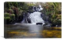 Aberfoyle Waterfall , Canvas Print