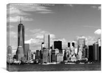 Freedom Tower New York, Canvas Print
