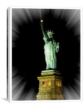 Statue of Liberty NYC, Canvas Print