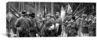Pikes and muskets, Canvas Print