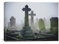 Ethereal Graveyard, Canvas Print