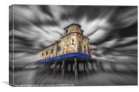 Fuzeta Lifeboat Station, Canvas Print