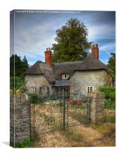 Keys Lodge Cottage, Canvas Print