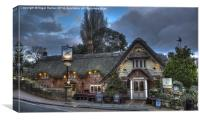 The Crab Inn Shanklin, Canvas Print