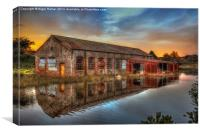 Bembridge Waterworld, Canvas Print