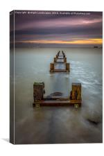 Seaview Outfall, Canvas Print