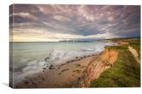 Coastal Path, Canvas Print