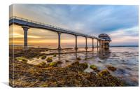 An Evening At Bembridge Lifeboat Station, Canvas Print