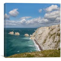The Needles Isle Of Wight, Canvas Print
