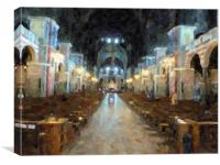 Scotland Cathedral, Canvas Print