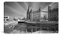 Liverpool Waterfront, Canvas Print