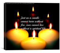 Candles, Canvas Print