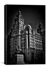 Liverpool Royal Liver Building, Canvas Print
