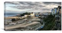 Tenby, West Wales, Canvas Print