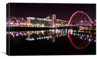 The Clyde, Canvas Print