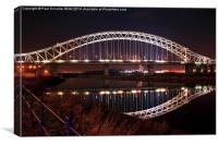 Silver Jubilee Bridge, Canvas Print