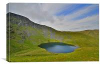 The Lake District: Scales Tarn, Canvas Print
