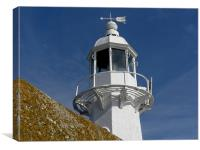 Mevagissey Light House, Canvas Print