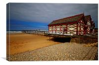 A Very Victorian Pier, Canvas Print