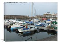 Finechty Harbour, Canvas Print