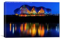 The Sage and it's wonderful lighting, Canvas Print
