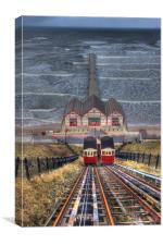 Saltburn-by-the-Sea, Canvas Print
