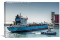 Maersk Edward, Canvas Print