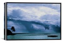 Tropical Sky, Canvas Print