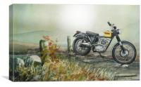 With your triumphs and your charms, Canvas Print