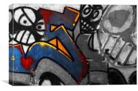 Graffiti 1, Canvas Print