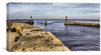Harbour Mouth Entrance, Canvas Print