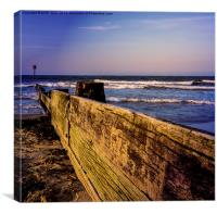 Sea Defence, Canvas Print