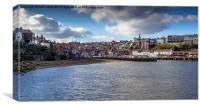 Whitby Outer Harbour , Canvas Print