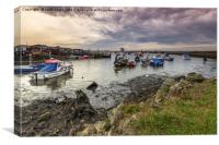 Paddys Hole Teesmouth, Canvas Print