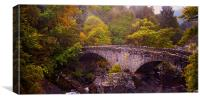 Old Stone Bridge. Scotland, Canvas Print