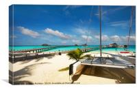 Another Day. Maldives, Canvas Print