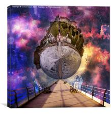 Interstellar Stroll, Canvas Print