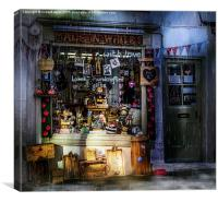 Made in Whitby, Canvas Print