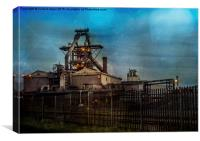 Iron and Steel, Canvas Print