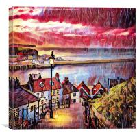 Sweet Whitby, Canvas Print