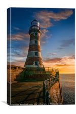 Roker Candy, Canvas Print