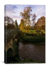 Egton Bridge, Canvas Print