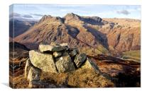 View from Lingmoor Fell, Canvas Print