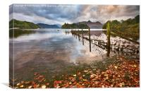 Derwentwater Early Morning, Canvas Print