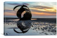 Sunset At Mary's Shell Cleveley's, Canvas Print