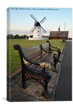 Lytham Windmill, Canvas Print